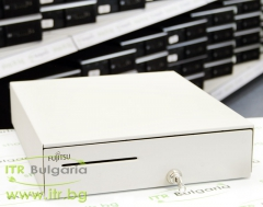 Fujitsu TP Cash Drawer White А клас  RPG01001 with key No cable included for POS