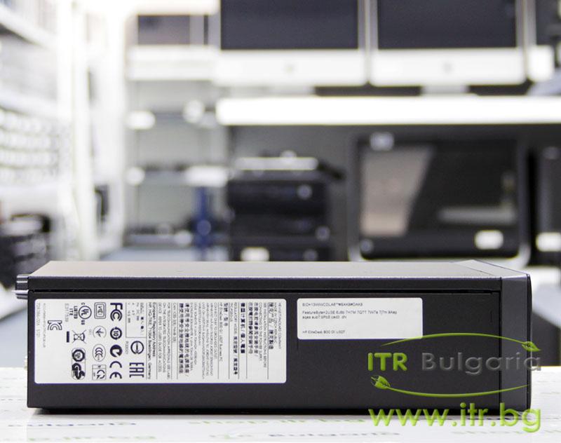 HP EliteDesk 800 G1 USDT А клас Intel Core i5 4670S 3100MHz 6MB 4096MB So-Dimm DDR3 128 GB 2.5 Inch SSD Slim DVD-RW Ultra Slim Desktop