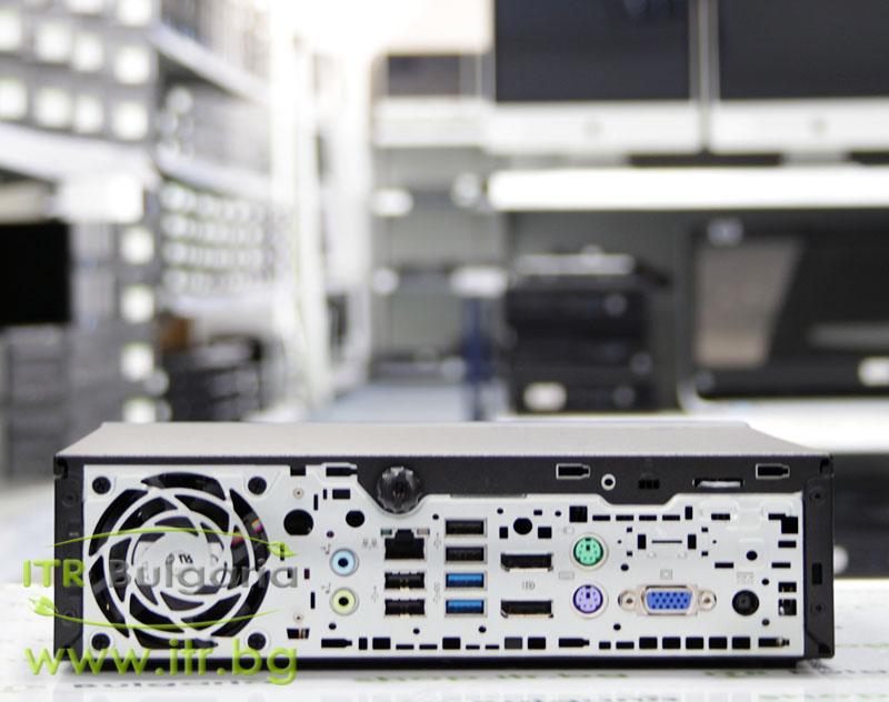 HP EliteDesk 800 G1 USDT А клас Intel Core i5 4570S 2900Mhz 6MB 4096MB So-Dimm DDR3L 128 GB 2.5 Inch SSD NO OD Ultra Slim Desktop