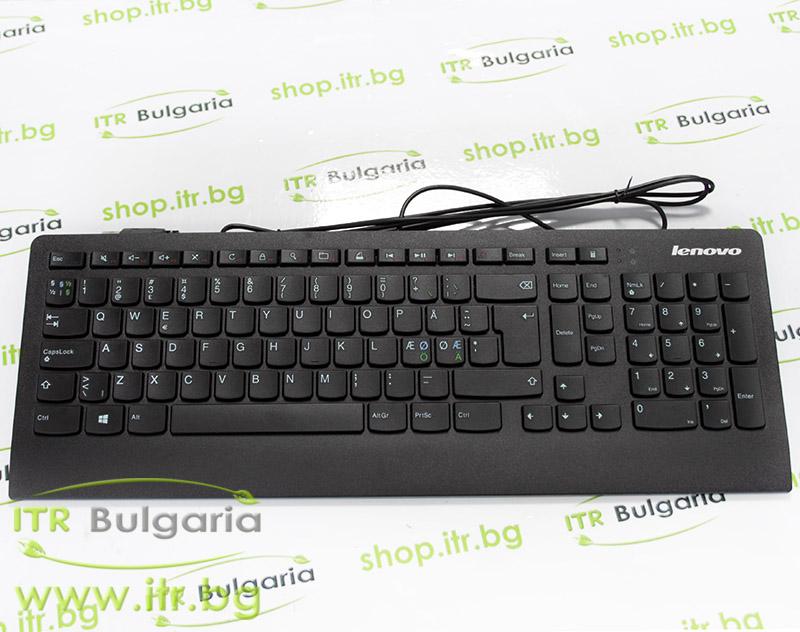 Lenovo SK-8821 Нов 54Y9535 Black USB Nordic Slim Keyboard