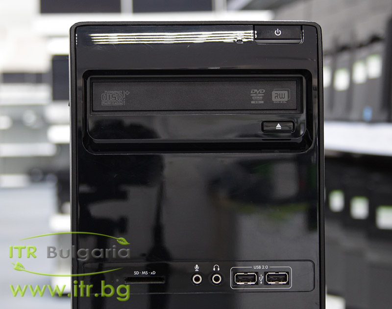 HP 3400 Pro MT А клас Intel Pentium G850 2900Mhz 3MB 4096MB DDR3 320 GB SATA DVD-RW MiniTower  Card Reader