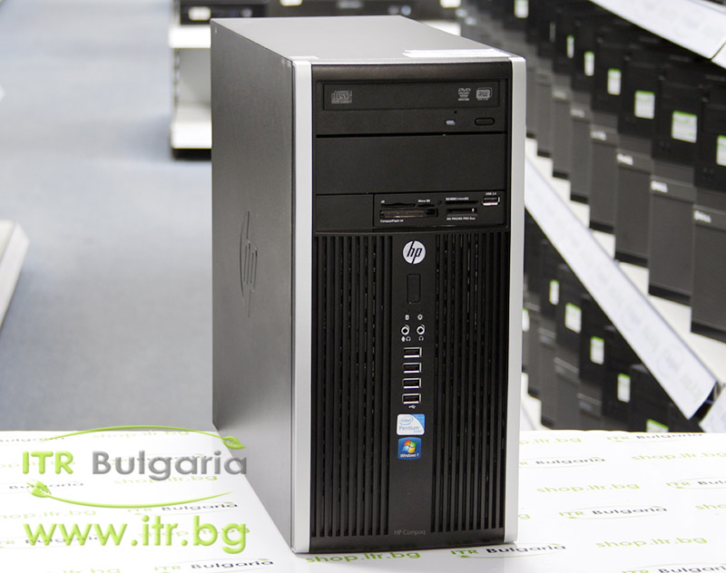 HP Compaq 6300 Pro MT А клас Intel Pentium G640 2800Mhz 3MB 4096MB DDR3 320 GB SATA DVD-RW MiniTower  Card Reader