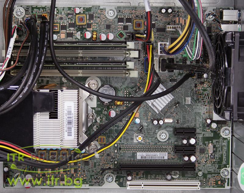 HP Compaq 6300 Pro MT А клас Intel Pentium G640 2800Mhz 3MB 4096MB DDR3 320 GB SATA DVD-RW MiniTower  Card Reader