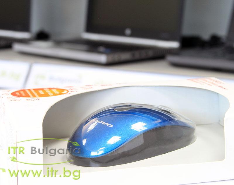 Lenovo M3803 Нов USB 888013576 Navy Blue Mouse