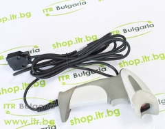 Honeywell MS9590 Voyager GS Silver А клас RS 232 DB9 Powered 5V Female Single Line Laser Жичен Barcode Scanner