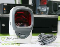 Motorola Symbol LS9208 А клас USB Single Line Laser Жичен Silver Barcode Scanner without stand