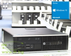 HP Compaq 6200 Pro SFF А клас Intel Core i5 2400 3100Mhz 6MB 4096MB DDR3 250 GB SATA DVD RW Slim Desktop с инсталиран Windows 10 Home