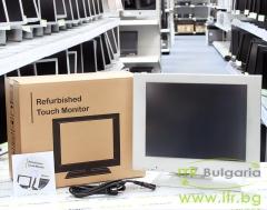 Wincor Nixdorf BA73R 2 А клас Touchscreen Monitor 15 USB VGA  1024x768 XGA 4:3 White