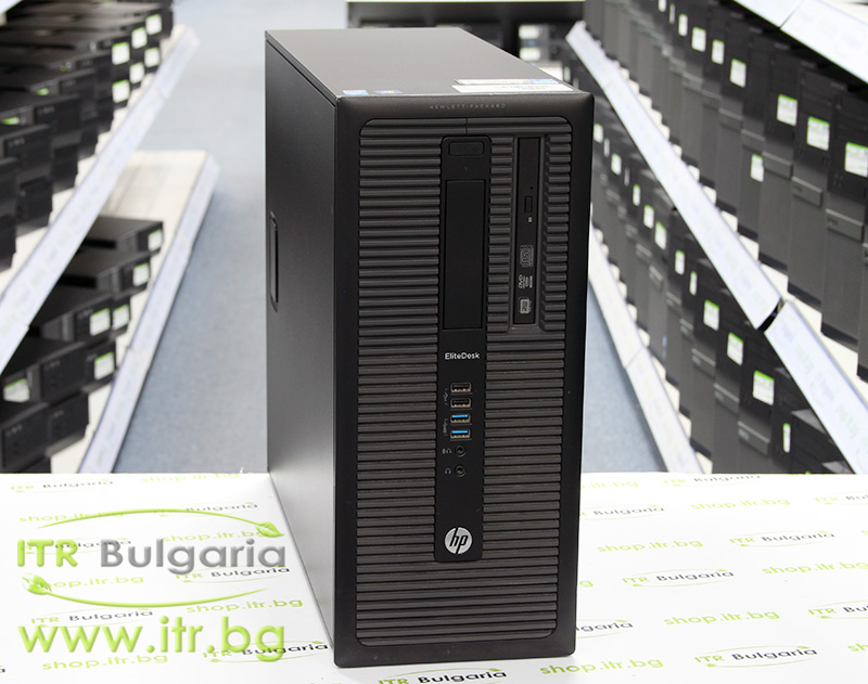 HP EliteDesk 800 G1 TWR А клас Intel Core i5 4570 3200MHz 6MB 4096MB DDR3 500 GB SATA NO OD Tower