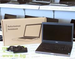 DELL Precision M4800 А клас Intel Core i7 4800MQ 2700Mhz 6MB 16GB So Dimm DDR3L 500 GB 2.5 Inch SSHD NO OD 15.6 1920x1080 Full HD 16:9  Camera WWAN HDMI eSATA DisplayPort