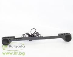 Lenovo ThinkVision USB Soundbar L151, L151p, L171, L171p, L172, L174, L1700p, L190x, L191, L192p, L193p, L194, L197, L1900, L1940, L1940p, L200p, L201p, L220x Wide, L2240p Wide Нов 40Y7616 Black Flat Panel Speakers