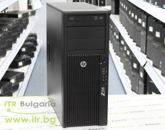HP Workstation Z420 А клас Intel Xeon Quad Core E5 1603 2800MHz 10MB 8192MB DDR3 ECC 1 бр. 500 GB 3.5 SATA DVD RW Tower  nVidia Quadro NVS 315 1024MB PCI E DMS 59