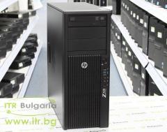 HP Workstation Z420 А клас Intel Xeon Quad Core E5 1603 2800MHz 10MB 8192MB DDR3L ECC 1 бр. 500 GB 3.5 SATA DVD RW Tower  nVidia Quadro NVS 315 1024MB PCI E DMS 59