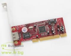 Addonics WD S ml 94v 0 А клас SATA Controller PCI Standard Profile  1 port SATA 1 port eSATA