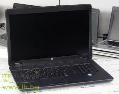 HP ZBook 17 G1 А клас Intel Core i7 4700MQ 2400MHz 6MB 16GB So Dimm DDR3L 256 GB 2.5 Inch SSD Slim DVD RW 17.3 1600x900 WSXGA 16:9  Camera DisplayPort Thunderbolt