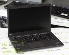 Lenovo ThinkPad T440s А клас Intel Core i7 4600U 2100MHz 4MB 8192MB So Dimm DDR3L 500 GB SATA  14 1920x1080 Full HD 16:9  Finger Print Camera WWAN Mini DisplayPort IPS 2xBattery