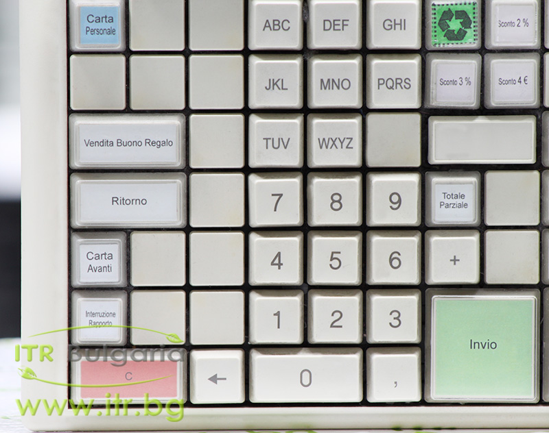 PrehKeyTec MCI 84 А клас PS/2 90325-035 90325-004 White Keyboard for POS