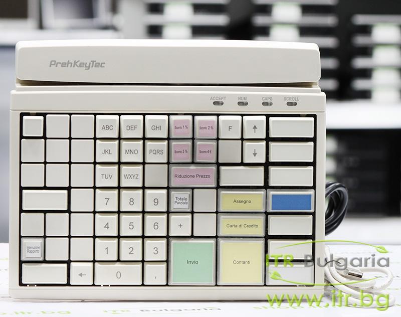 PrehKeyTec MCI 84 А клас USB 90328-351 White Keyboard for POS