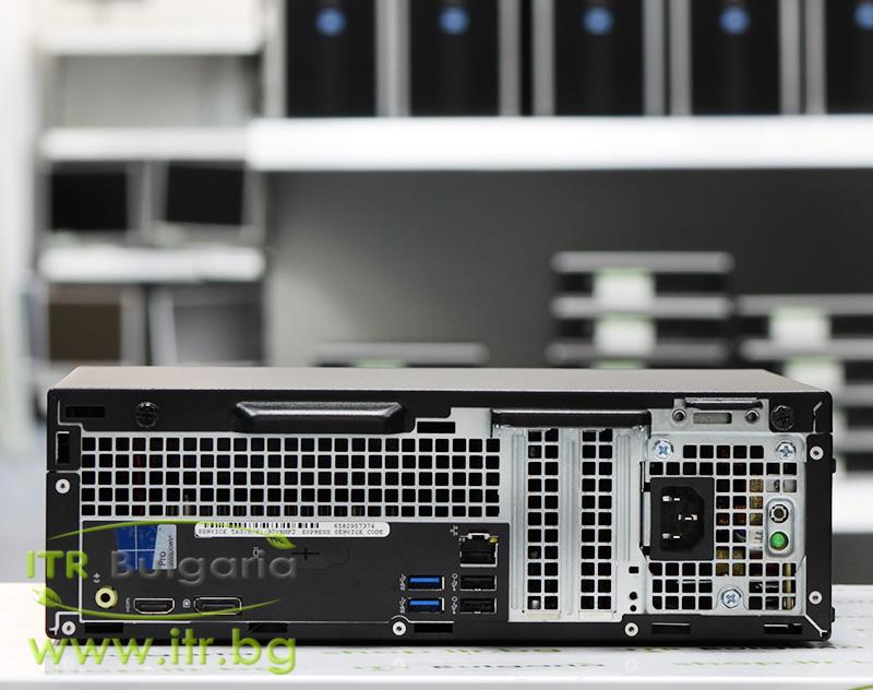 "DELL OptiPlex 3040 А клас Intel Core i5 6500 3200MHz 6MB 8192MB DDR3L 500 GB SATA 2.5"" NO OD Slim Desktop"