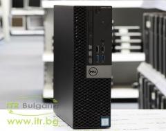 DELL OptiPlex 7040 А клас Intel Core i7 6700 3400MHz 8MB 8192MB DDR4 256 GB 2.5 Inch SSD Slim DVD RW Slim Desktop