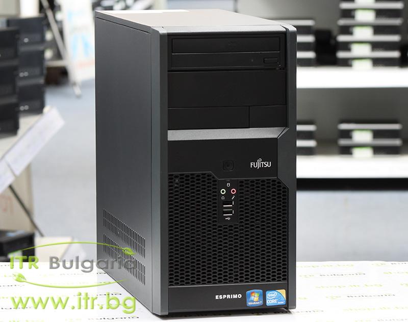 Fujitsu Esprimo P2760 А клас Intel Core i3 550 3200Mhz 4MB 4096MB DDR3 320 GB SATA DVD-RW MiniTower