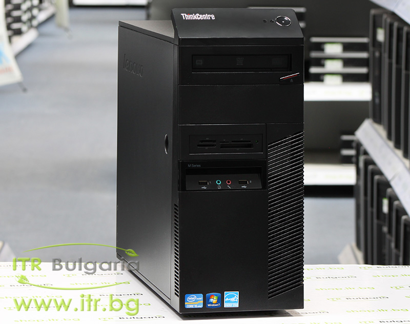 Lenovo ThinkCentre M92p А клас Intel Core i5 3470 3200Mhz 6MB 4096MB DDR3 500 GB SATA DVD-RW MiniTower  Card Reader