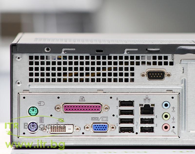Lenovo ThinkCentre A62 А клас AMD Athlon 64 X2 5200B 2700Mhz 1MB 4096MB DDR2 240 GB 2.5 Inch SSD NO OD Slim Desktop
