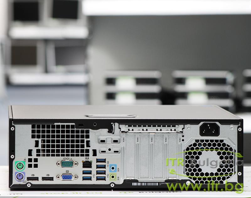 HP EliteDesk 800 G2 SFF А клас Intel Core i5 6500 3200MHz 6MB 8192MB DDR4 128 GB 2.5 Inch SSD NO OD Slim Desktop