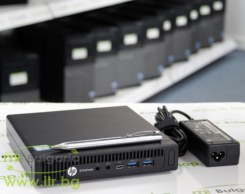 HP EliteDesk 800 G2 DM А клас Intel Core i5 6500T 2500MHz 6MB 8192MB So-Dimm DDR4 256 GB 2.5 Inch SSD  Desktop Mini