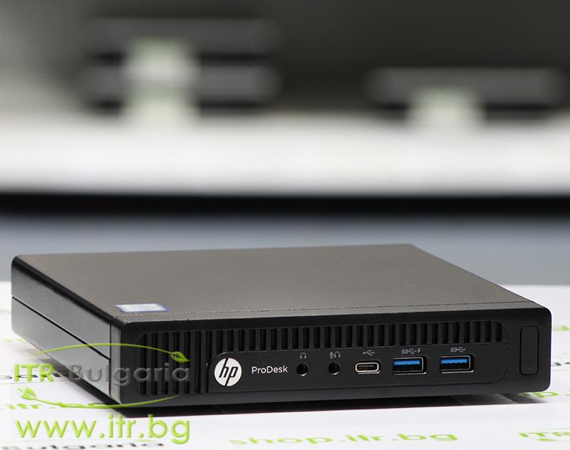 HP ProDesk 600 G2 DM А клас Intel Core i5 6500T 2500MHz 6MB 8192MB So-Dimm DDR4 120 GB 2.5 Inch SSD  Desktop Mini