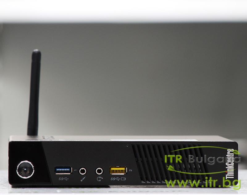 Lenovo ThinkCentre M93p А клас Intel Core i5 4570T 2900MHz 4MB 4096MB So-Dimm DDR3 500 GB 2.5 Inch SSHD  Tiny Desktop  Wi-Fi