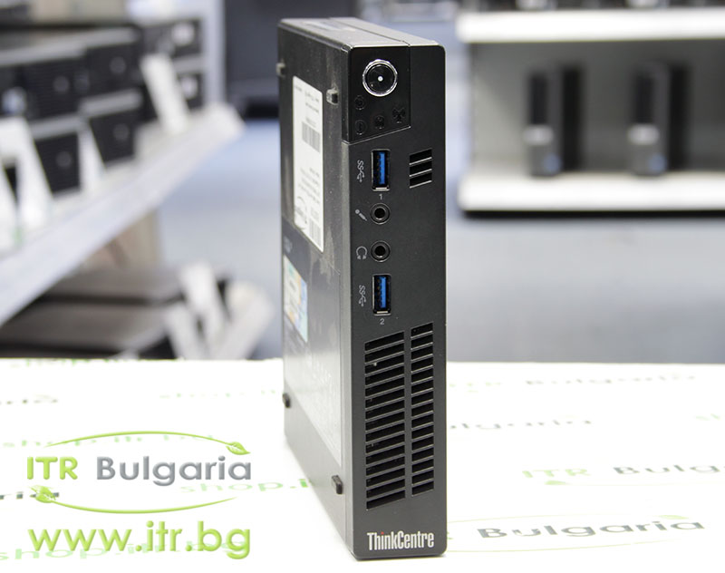 Lenovo ThinkCentre M92p А клас Intel Core i5 3470T 2900MHz 3MB 8192MB So-Dimm DDR3 128 GB 2.5 Inch SSD NO OD Tiny Desktop  Wi-Fi