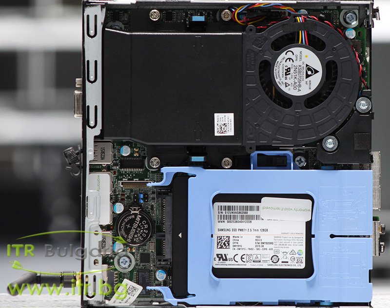 DELL OptiPlex 9020M А клас Intel Core i7 4765T 2000MHz 8MB 8192MB So-Dimm DDR3 128 GB 2.5 Inch SSD  Desktop Mini  Wi-Fi