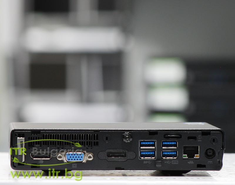 HP EliteDesk 800 G2 DM А клас Intel Core i7 6700 3400MHz 8MB 8192MB So-Dimm DDR4 256 GB 2.5 Inch SSD  Desktop Mini  Wi-Fi