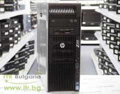 HP Workstation Z620 А клас Intel Xeon 6 Core E5 2620 v2 2100MHz 15MB 16GB DDR3 Registered 2 бр. 500 GB 3.5 SATA DVD RW Tower  nVidia Quadro 2000 1024MB PCI E DVI 2xDisplayPort Card Reader