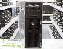 HP Workstation Z620 А клас Intel Xeon 6 Core E5 2620 v2 2100MHz 15MB 32GB DDR3 Registered 1 бр. 1 TB 3.5 SATA DVD RW Tower  nVidia Quadro 2000 1024MB PCI E DVI 2xDisplayPort Card Reader
