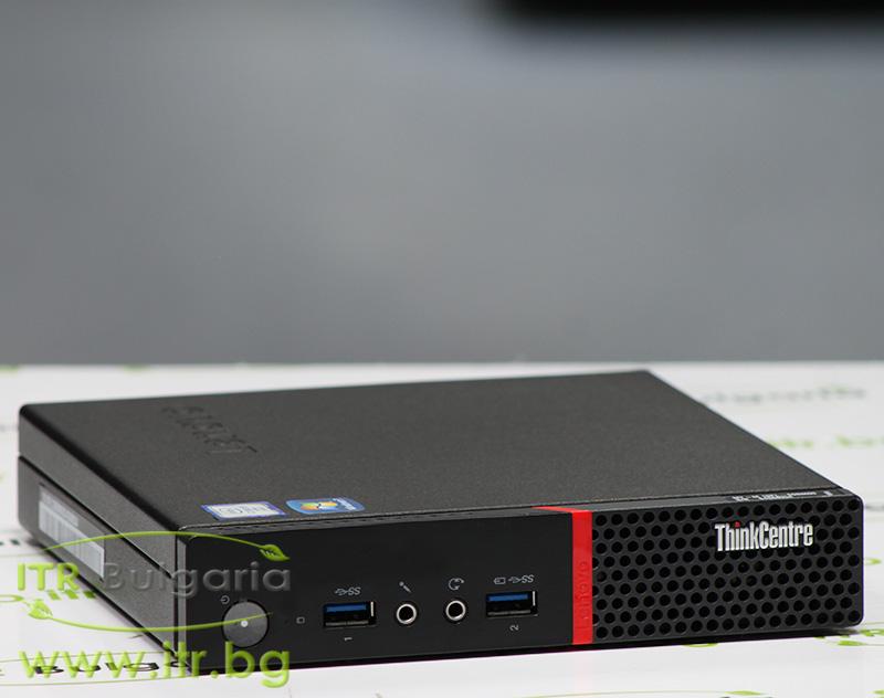 "Lenovo ThinkCentre M900 А клас Intel Pentium G4400T 2900MHz 3MB 8192MB So-Dimm DDR4 500 GB SATA 2.5"" NO OD Tiny Desktop"