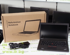 Lenovo ThinkPad X250 А клас Intel Core i5 5200U 2200Mhz 3MB 8192MB So Dimm DDR3L 256 GB 2.5 Inch SSD  12.5 1366x768 WXGA LED 16:9  Finger Print Camera WWAN Mini DisplayPort 2xBattery