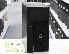 DELL Precision T1650 А клас Intel Xeon Quad Core E3 1270 v2 3500MHz 8MB 8192MB DDR3 1 бр. 500 GB 3.5 SATA DVD RW MiniTower  nVidia Quadro NVS 310 512MB PCI E 2xDisplayPort