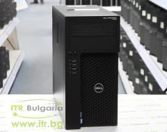 DELL Precision T1650 B клас Intel Xeon Quad Core E3 1270 v2 3500MHz 8MB 8192MB DDR3 1 бр. 500 GB 3.5 SATA DVD RW MiniTower  nVidia Quadro NVS 310 512MB PCI E 2xDisplayPort