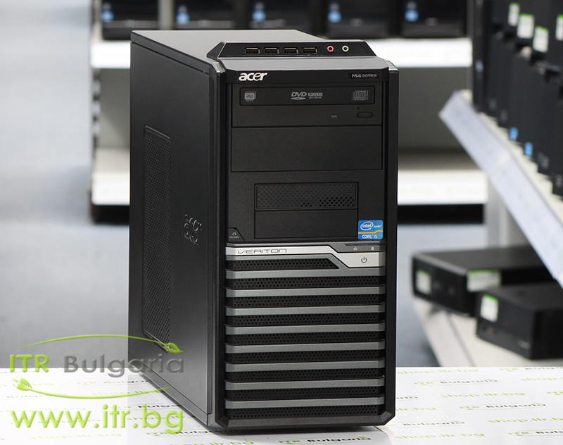 Acer Veriton M4610G А клас Intel Core i5 2400 3100Mhz 6MB 4096MB DDR3 500 GB SATA DVD-RW MiniTower