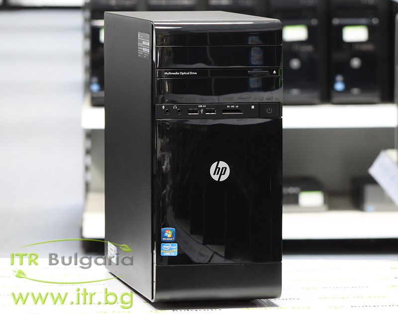 HP 600B MT А клас Intel Core i3 3220T 2800MHz 3MB 4096MB DDR3 320 GB SATA DVD-RW MiniTower