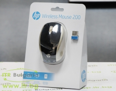 HP 200 (Silk Gold) Нов Wireless 2HU83AA Optical Mouse