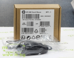 HP Travel Mouse Black Нов USB G1K28AA Optical Mouse