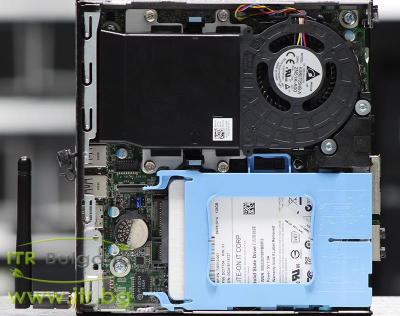 DELL OptiPlex 3040 А клас Intel Core i5 6500T 2500MHz 6MB 8192MB So-Dimm DDR3L 128 GB 2.5 Inch SSD NO OD Desktop Mini  Wi-Fi
