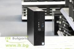 DELL OptiPlex 3050 А клас Intel Core i5 7500 3400MHz 6MB 8192MB DDR4 128 GB 2.5 Inch SSD Slim DVD RW Slim Desktop