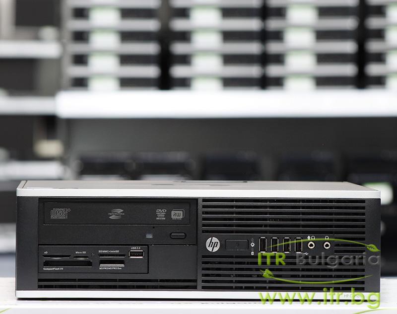 HP Compaq Elite 8200SFF А клас Intel Core i3 2100 3100MHz 3MB 4096MB DDR3 250 GB SATA DVD-RW Slim Desktop  Card Reader
