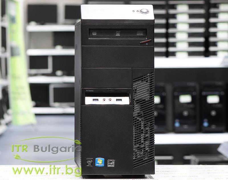Lenovo ThinkCentre M93p А клас Intel Core i5 4570 3200MHz 6MB 4096MB DDR3 500 GB SATA DVD-RW MiniTower