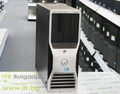 DELL Precision T3500 А клас Intel Xeon Dual Core W3503 2400Mhz 4MB 8192MB DDR3 ECC 1 бр. 500 GB 3.5 SATA DVD Tower  nVidia Quadro NVS 300 512MB PCI E DMS 59