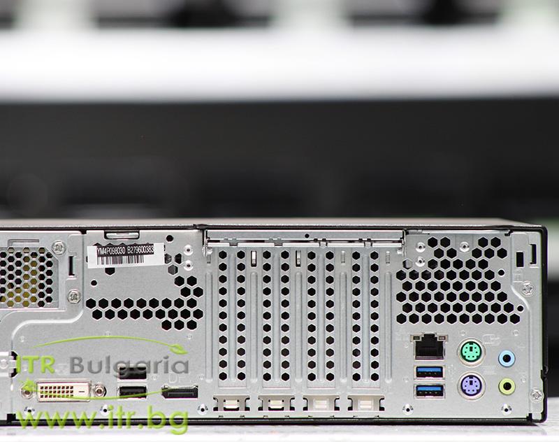 Fujitsu Esprimo D556 А клас Intel Core i5 6400 2700MHz 6MB 8192MB DDR4 128 GB 2.5 Inch SSD Slim DVD-RW Slim Desktop